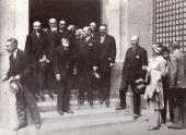 Inauguration du Centre de synthese 1929